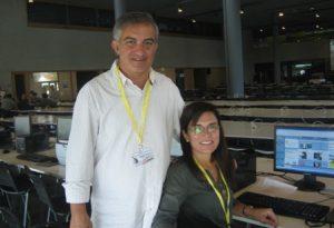 Sala de Prensa, Visita del Papa a España