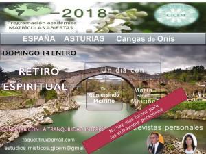 Un día de Retiro Espiritual, Asturias, España