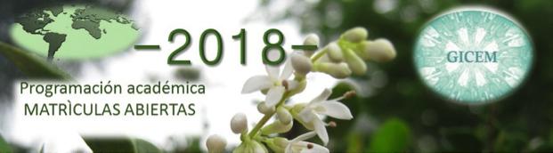Gicem 2018 Matrículas abiertas